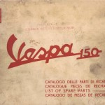 Vespa 150 (VBB1T) Parts Book