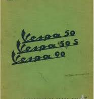 Vespa 50 (V5A1T) 50S (V5SA1T) 90 (V9A1T) Parts Book