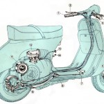 Vespa GS160 & SS180 Maintenanec Book by John Thorpe's