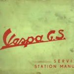 Vespa GS 160 Workshop Manual