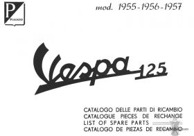 Vespa 125 (VN1T) Parts Book