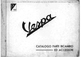 Vespa 98 (V98) Parts Book
