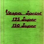 Vespa 125 Super (VNC1T) Parts Book