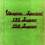 Vespa 125 Super (VNC1T) Parts Book