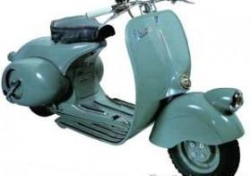 Vespa 125 Bacchetta – 1948-1950