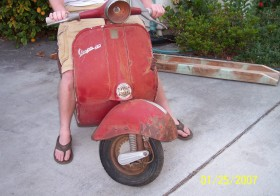 61 Vespa VBB Restoration Project (Part 1 of 6)