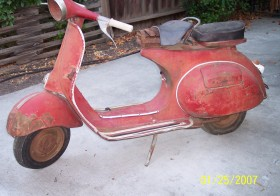 61 Vespa VBB Restoration Project (Part 6 of 6)