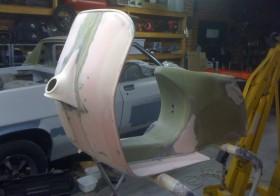 Vespa Body Restoration Tutorial