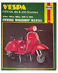 Vespa Haynes Owners Workshop Manual 1978 – 1988