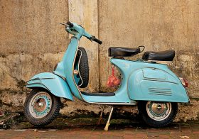 How to Get Your Vespa Going After a Long Storage