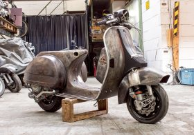 It often pays to restore a Classic Vespa.